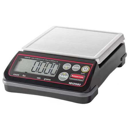 RUBBERMAID 1812592 High Performance Digital Scale,24 lb. G4610536