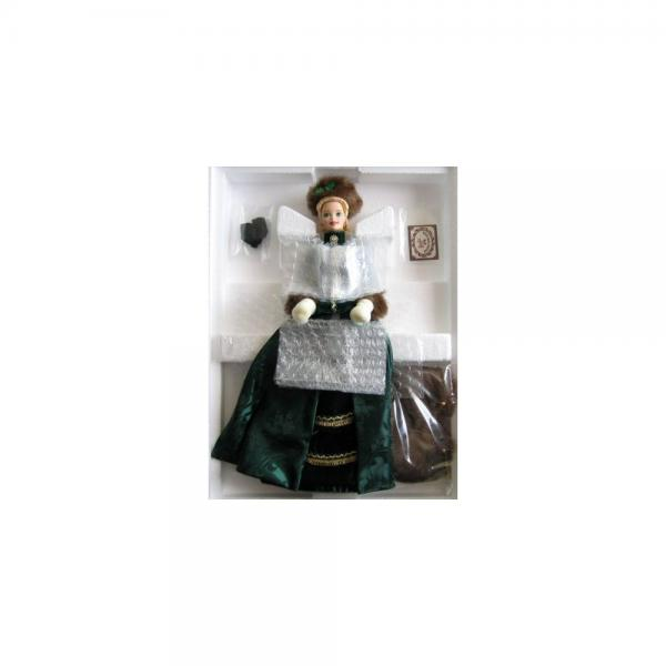 Barbie - Holiday Caroler Doll - Holiday Porcelain Barbie ...