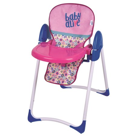 Baby Alive Doll Deluxe Highchair Dot Mesh Baby Doll