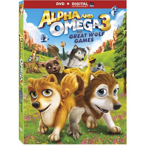 Alpha And Omega 3: The Great Wolf Games (DVD + Digital Copy) (Walmart Exclusive) (With INSTAWATCH))