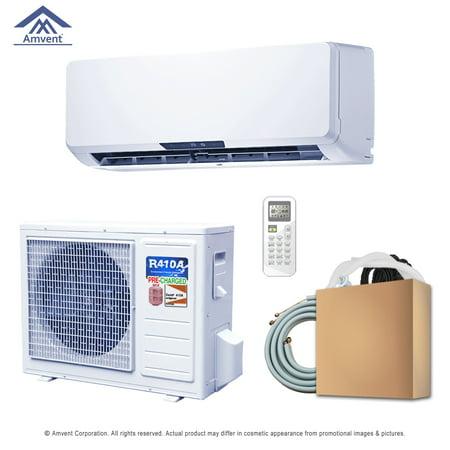 Super Efficiency 9000 BTU Inverter Ductless Mini Split and Heat Pump 115V/60 HZ 25 Ft Inst Kit Heat Pump Efficiency