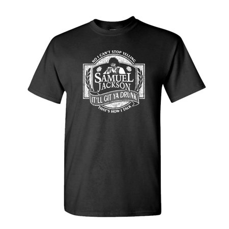 SAMUEL JACKSON BEER - chappelle comedy tv - Mens Cotton (Samuel L Jackson Hold On To Your Butts)