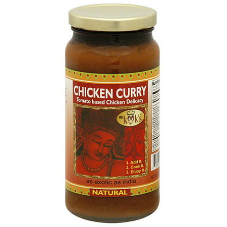 Mr. Kook's Chicken Curry Sauce, 16.5 oz, (Pack of (Best Type Of Curry)
