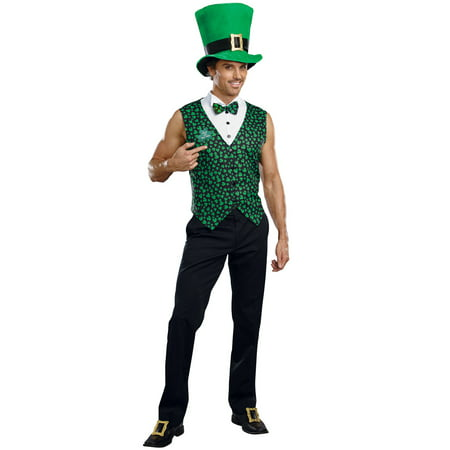 Irish Leprechaun Male Adult Costume - Leprechaun Costume Adult