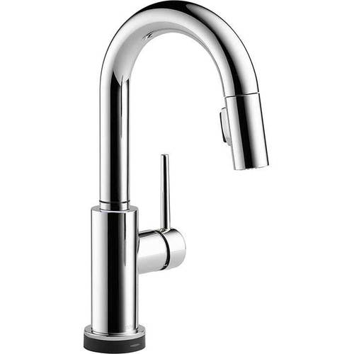 Delta Trinsic Pullout Spray Bar Faucet with Touch2O, MagnaTite Docking, Diamond Sealand Touch Clean Technologies, Available in Various Colors
