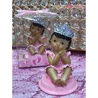 5 Ethnic Pink Baby Girl Princess Baby Shower 1st Birthday Party Favor Keepsake