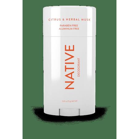 Native Deodorant Citrus & Herbal 2.65z