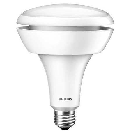 philips led dimmable flood light bulb br40 soft white with warm glow 65 we. Black Bedroom Furniture Sets. Home Design Ideas