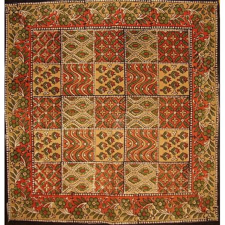 Kalamkari Block Print Cotton Table Napkin 20
