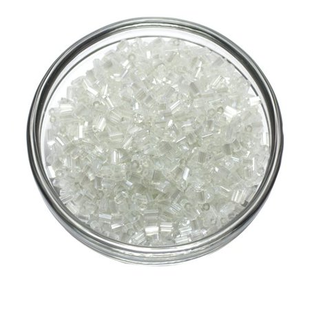 Cousin Clear Bugle Beads, 33g