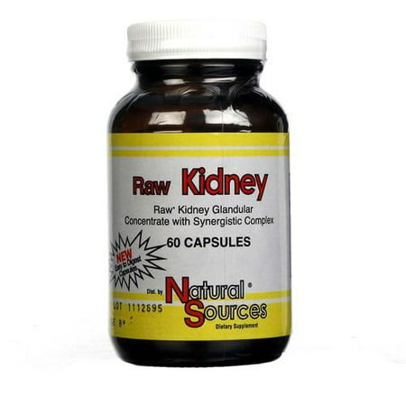 Natural Sources Raw Kidney, 60 Ct