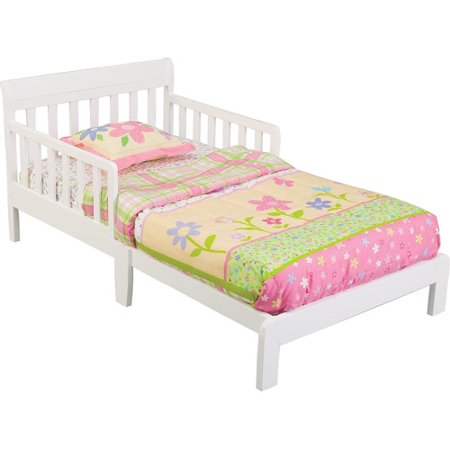 Delta Contemporary Toddler Bed White