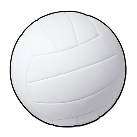 The Beistle Company Volleyball Standup (Set of 24)