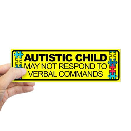 CafePress - Autism Child Car Decal - 10