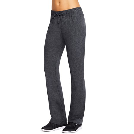 Champion Womens Jersey Pant S Granite Heather