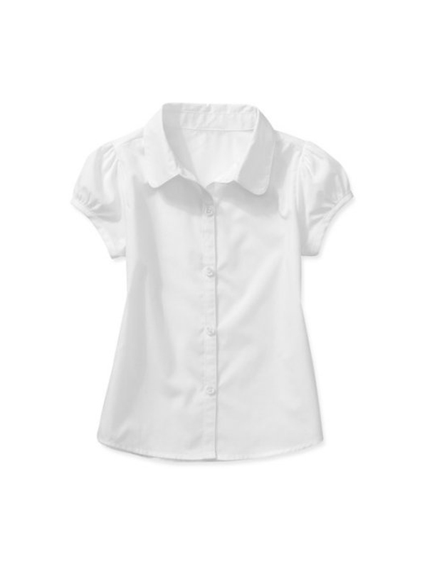 Toddler Girl Uniform Short Sleeve Blouse