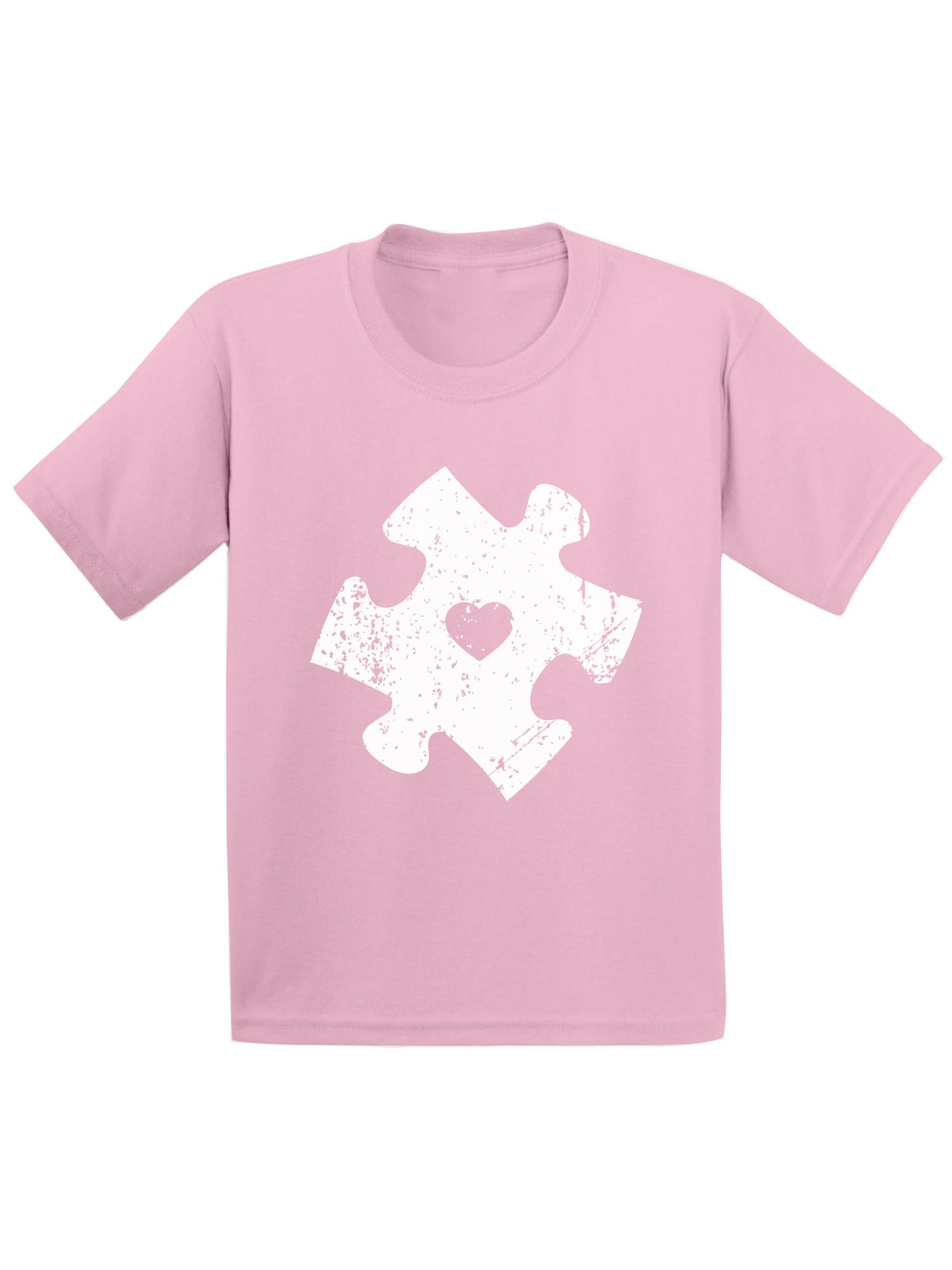 Awkward Styles Puzzle Toddler Shirt Autism Awareness Shirts for Kids Autism Puzzle Tshirt Autism Awareness Gifts for Boys and Girls Autism Puzzle Toddler T Shirt Autism Puzzle Kids Shirt