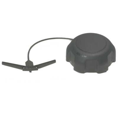 Nonvented Carb Approved Gas Cap With Tether For Spun Aluminum Fuel Tanks