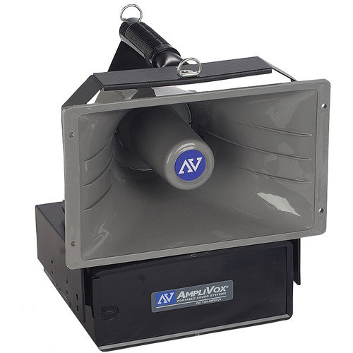 AmpliVox Sound Systems Wireless Powered Companion Hailer with Speaker