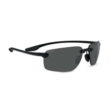 e83d9d39f3 Serengeti Eyewear - Sunglasses Erice Shiny Black Polarized CPG Lens  Sunglasses - Walmart.com