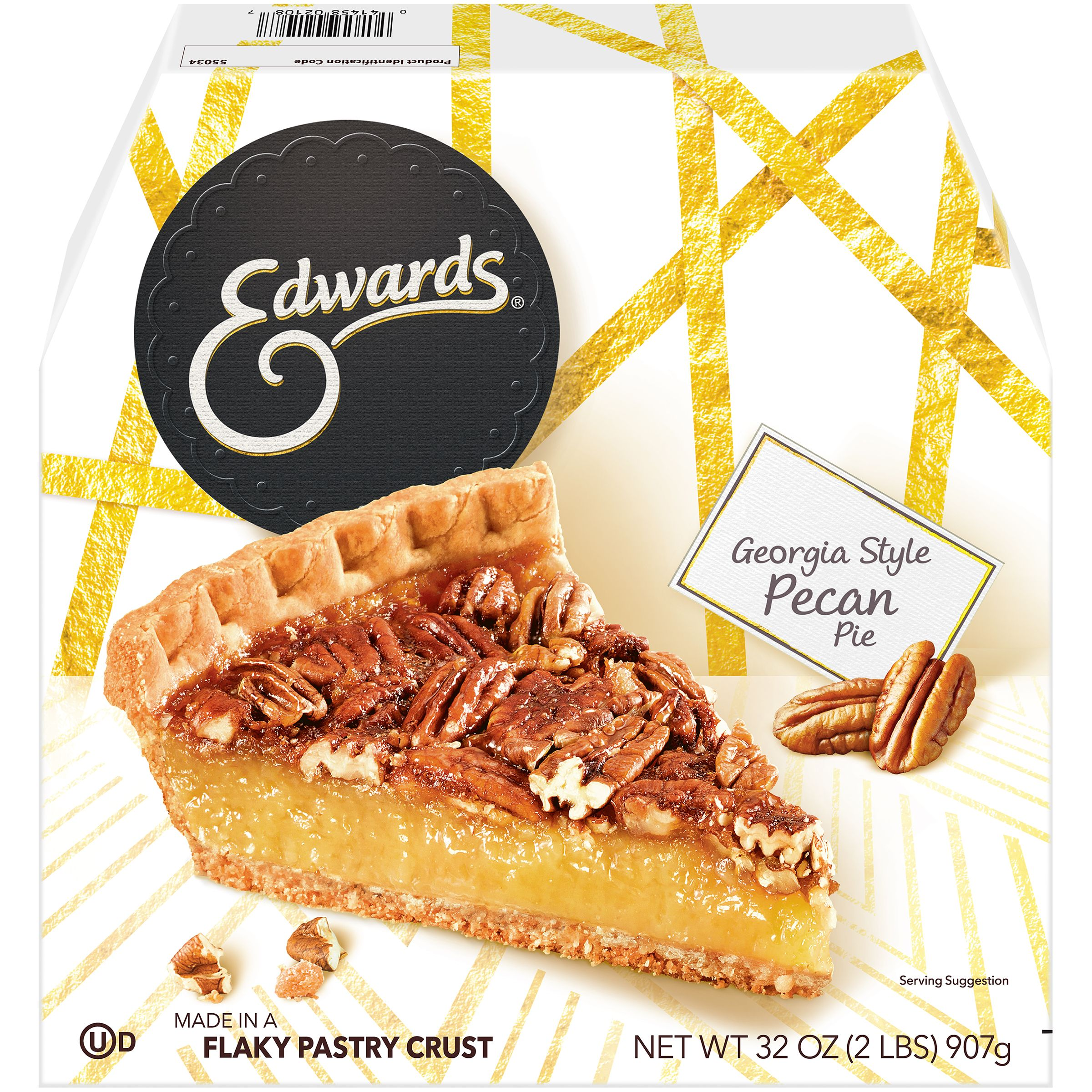 Edwards Georgia Pecan Pie 32 oz. Box