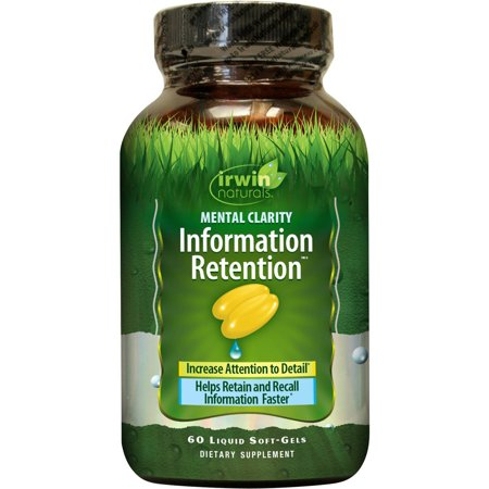 Irwin Naturals Mental Clarity Information Retention, 60 ct