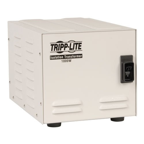 Tripp Lite IS1800HG Isolator Series 120V 1800W UL 60601-1 Medical-Grade Isolation Transformer with 6 Hospital-Grade Outlets