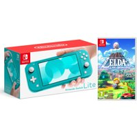 Nintendo Switch Lite 32GB Turquoise and The Legend of Zelda: Link's Awakening Bundle