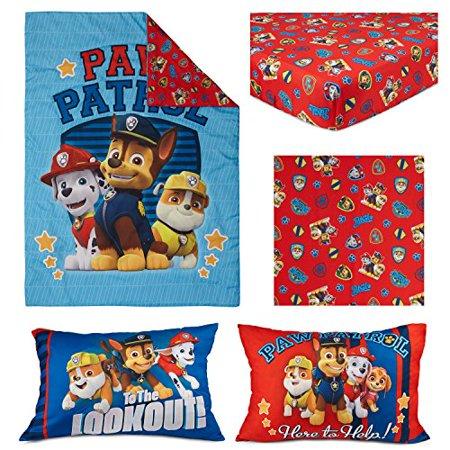 Paw Patrol Here to Help 4 Piece Toddler Bedding Set ...