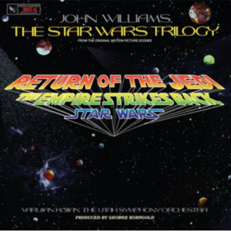 John Williams - Star Wars Trilogy (Utah Symphony Orchestra) / Ost - Vinyl John Williams Accordion