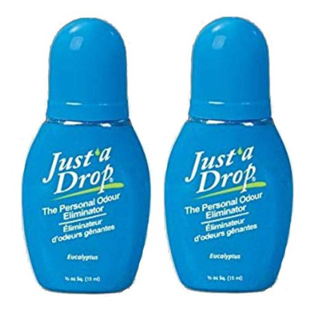 Just A Drop - The Natural Toilet Odor Neutralizer - 15 ml - 2 Pack ?ne ???k