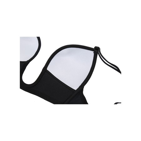 10809716cbb Women Sexy Deep U Shape Push Up Invisible Low Back Plunge Bra Size 34 Black  ...