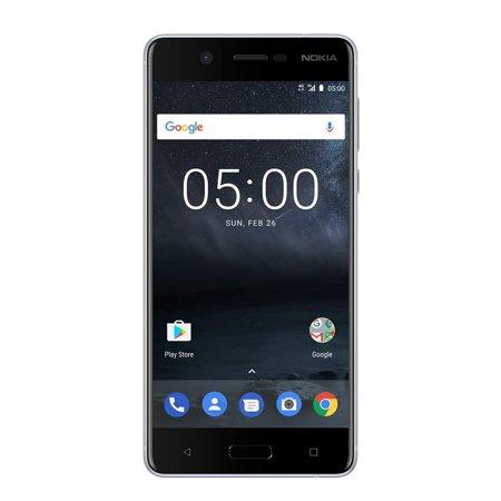 Nokia 5 - Android 9.0 (Pie) - 16 GB - 13MP Camera - Single SIM Unlocked Smartphone (at&T/T-Mobile/MetroPCS/Cricket/H2O) - 5.2