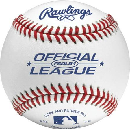 Rawlings Flat Seam Composite Cork/Rubber Center Baseball