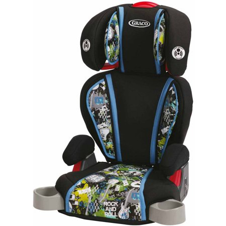 graco turbobooster high back booster car seat rockout. Black Bedroom Furniture Sets. Home Design Ideas