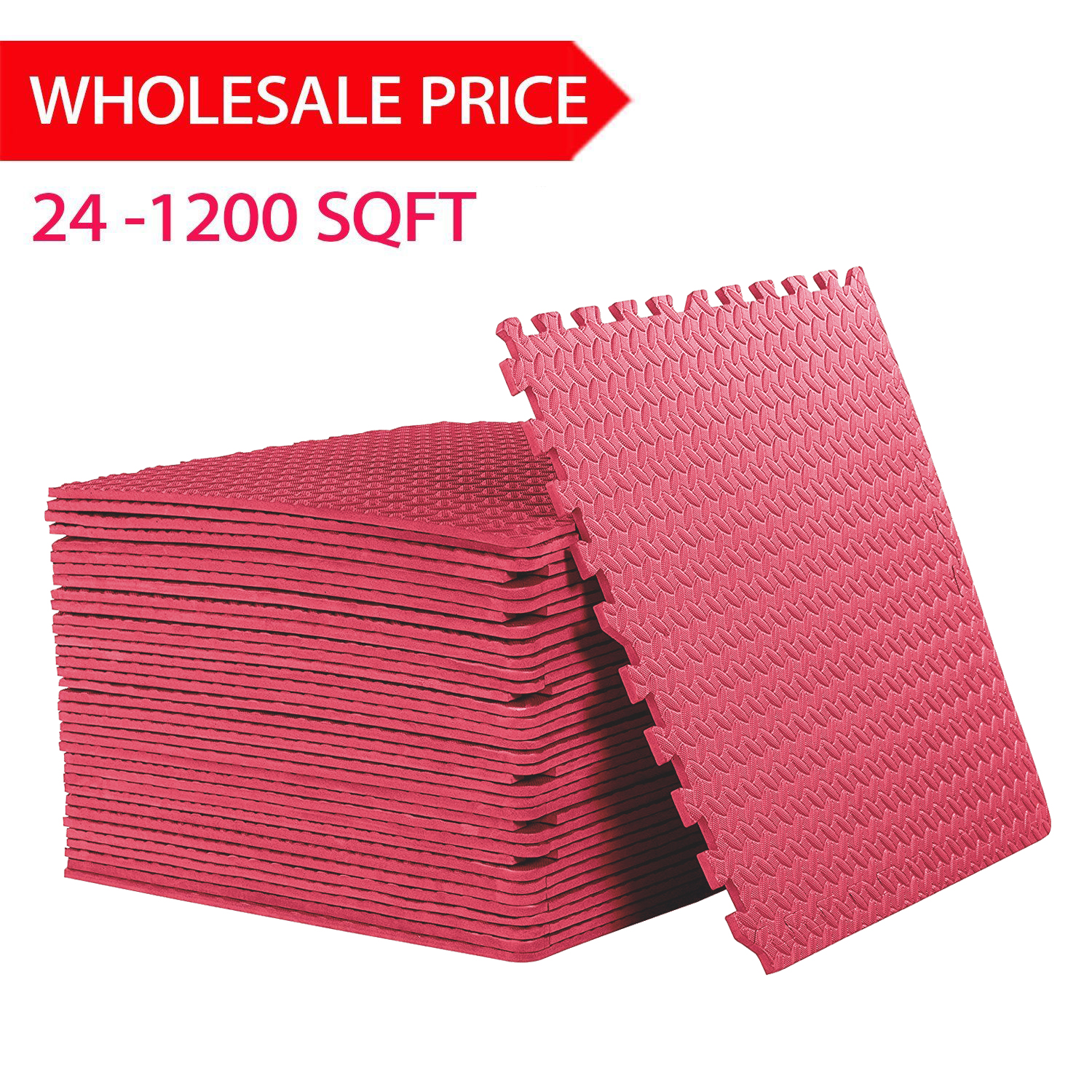 240 sqft red interlocking foam floor puzzle tiles mats puzzle mat flooring