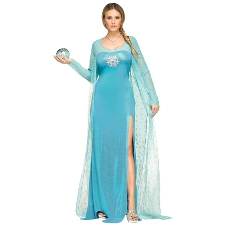 Adult Ice Queen Costume by FunWorld - Ice Queen Costume For Adults
