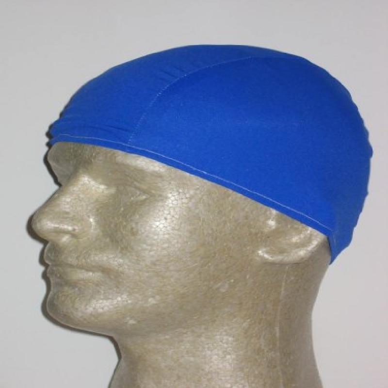 Extra Large Royal Blue Lycra Swim Cap (XL)