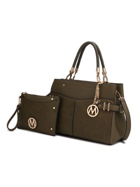 MKF Collection Tenna Satchel Bag with Wallet by Mia K.