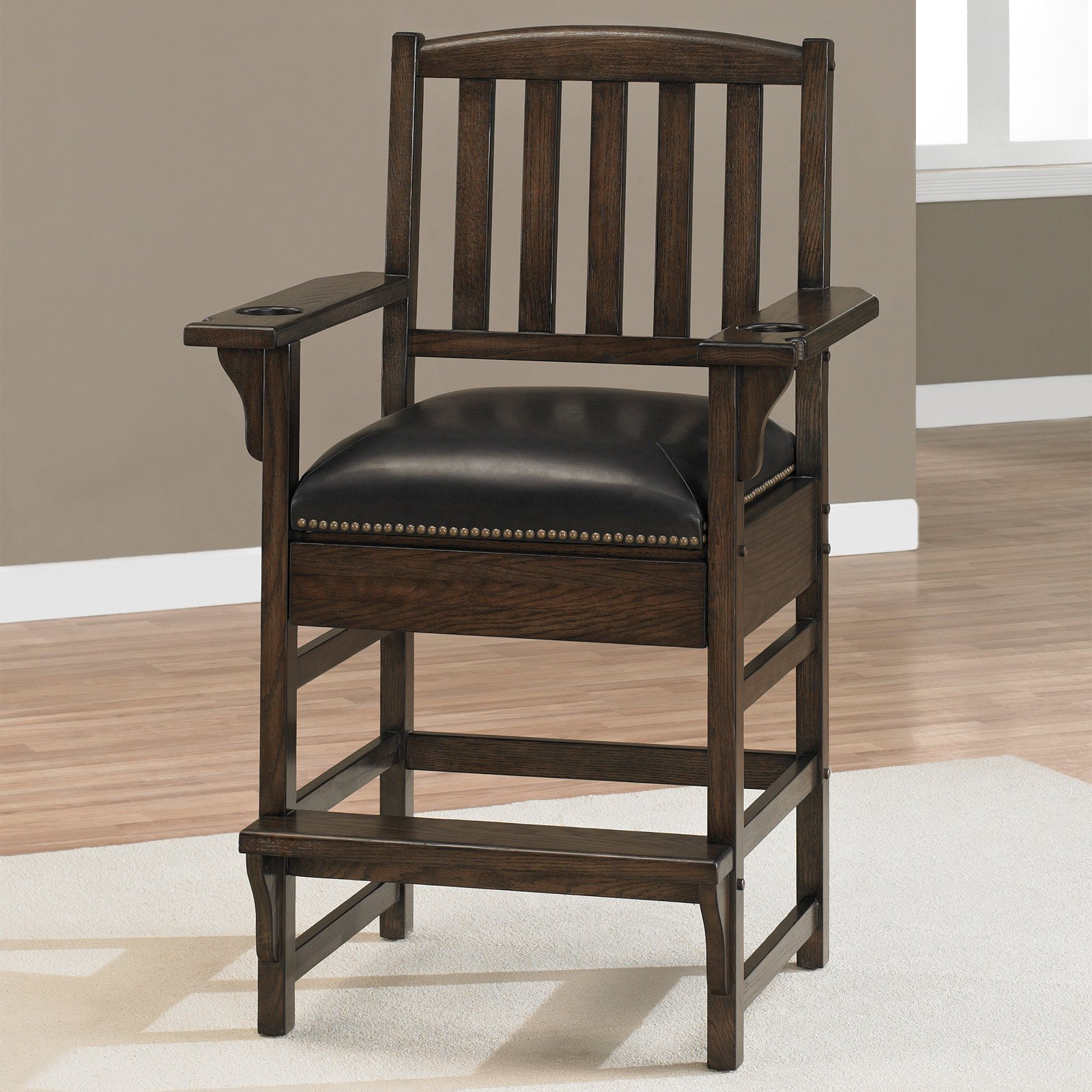 AHB King Chair Bar Stool Cherry by American Heritage Billiards