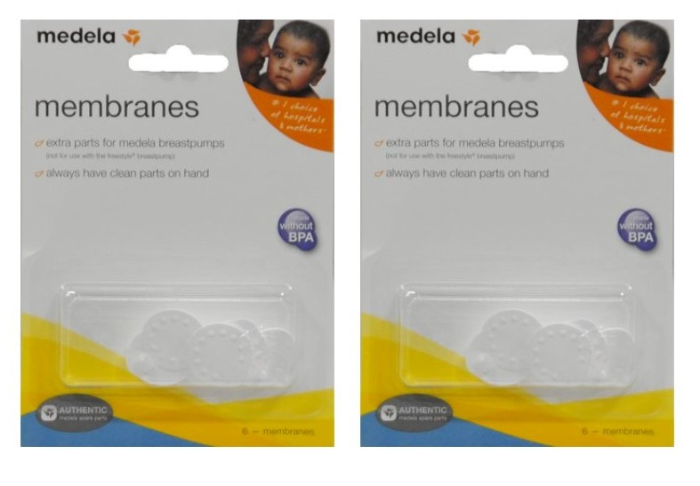Valve × 2 /& Membranes × 6 Replacement for Medela Breastpumps