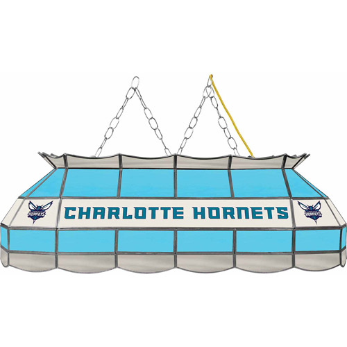 "Trademark Charlotte Hornets NBA 40"" Tiffany Style Lamp"