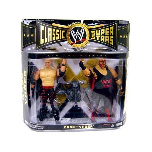 JAKKS Kane vs. Vader Action Figure 2-Pack WWE Wrestling