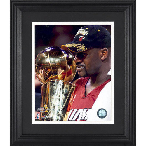 NBA - Shaquille O'Neal Miami Heat Framed Unsigned 8x10 Photograph