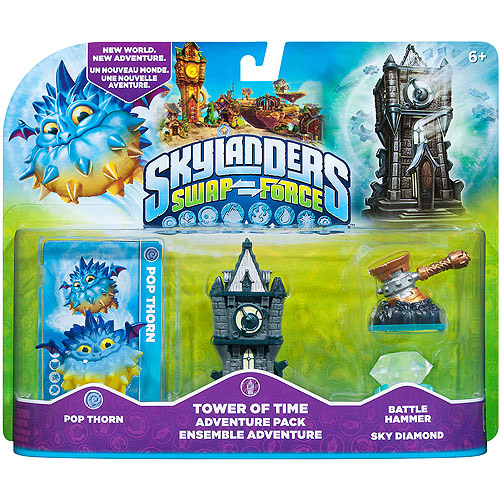 Skylanders Swap Force Tower Of Time Adventure Pack (Universal)