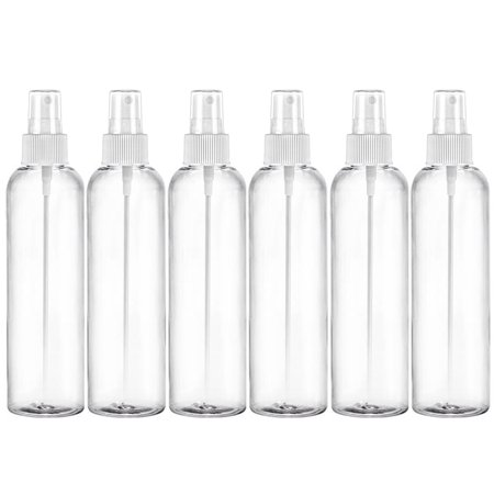 Green Glimmer Mist - MoYo Natural Labs Clear Pack of Large Fine Mist Pump Sprayers 8 oz mist spray Clear Pack of 6