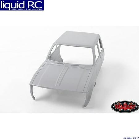 RC 4WD Z-B0120 Mojave II 4Door Front Cab Primer Gray RWDZ-B0120 4wd Body Cab Mounts