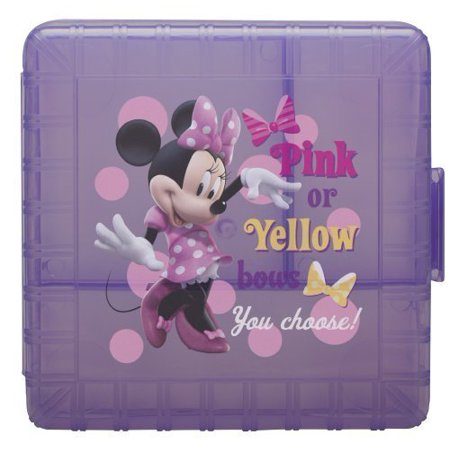 Minnie Foot (Zak! Designs GoPak Lunch Box Divided Food Storage Container featuring Minnie Mouse, Break-resistant and BPA-free Plastic by By Zak Designs)