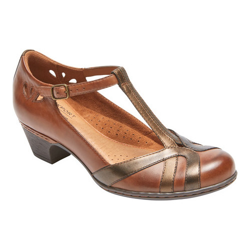 Women's Rockport Cobb Hill Angelina T-Strap by Rockport