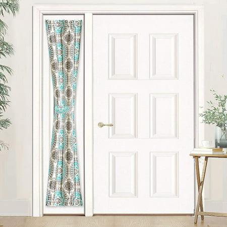 DriftAway Bella Sidelight Curtain, Single Curtain with Bonus Adjustable Tieback, 25